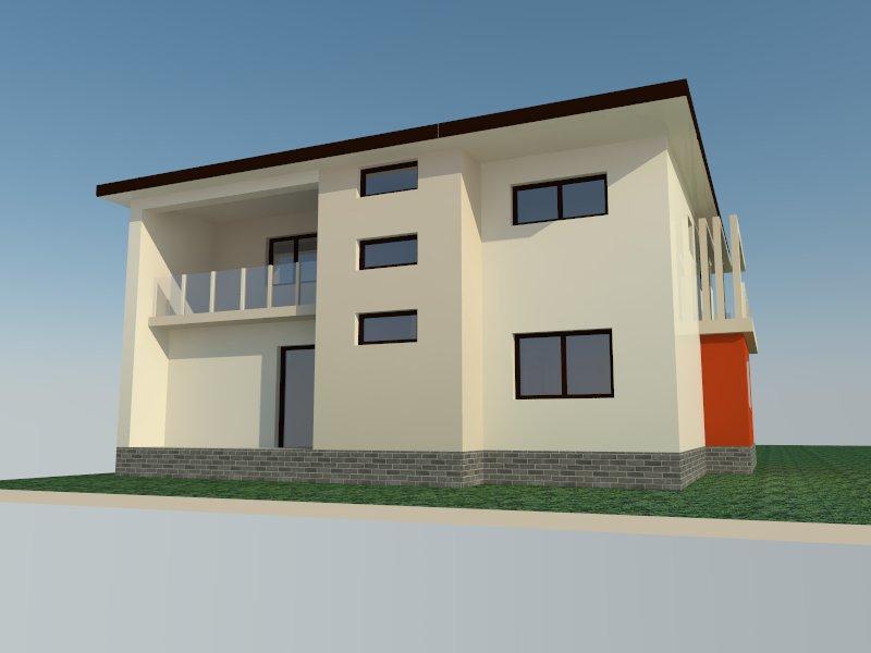 Arhitectura P+1E – propunere