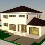 Arhitectura P+1E – 280 mp