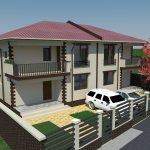 Arhitectura P+1E – Tip Duplex